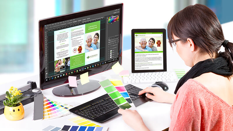 Mi a különbség a Print desing és a  Webdesign között?